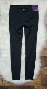 UNDER ARMOUR Women's Black Fitted Full Length Leggings Size Small