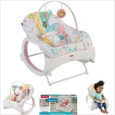 Baby Rocker Bouncer Seat Sleeper for Infant to Toddler Fisher-Price