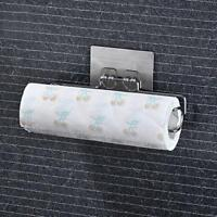 Paper Towel Roll Holder Kitchen Wall Mount Rack Bathroom Hanger Toilet Organizer