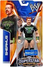 WWE SHEAMUS SUPERSTAR ENTRANCES TSHIRT FIGURE WALMART EXCLUSIVE TOUGH LAOCH LUCK