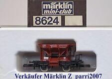 """Marklin Märklin Z 8624 - Schotterwagen """"Talbot"""" der DB  OVP Perfect"""