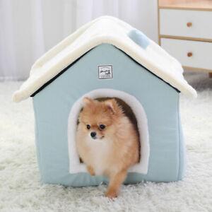 Dog House Indoor Warm Kennel Pet Cat Cave Nest Rabbit Nest Washable Removable