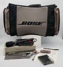 Thriftchi ~ Bose Acoustic Wave Music System Power Case Bose Power Microphone ++
