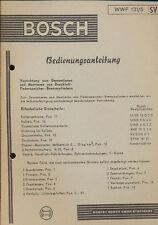 Bosch Bed.Anl. Montage Federspeicher-Brems-Zyl.  7/58