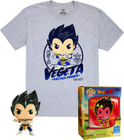 Vegeta Metallic DBZ Funko Pop Vinyl + T-Shirt New in Sealed Box
