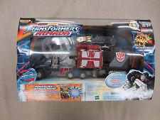 Transformers Armada Super Robot,Powerlinx Optimus Prime+mini-con+Comic Book+CD