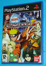 Naruto Ultimate Ninja 2 - Sony Playstation 2 PS2 - PAL New Nuovo Sealed