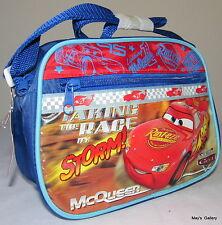 Disney Cars Car Back Pack School Bag Backpack small Lunch box 9 x 6 Nwt