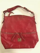 Vintage Dooney & Bourke Dawson Bag Red Leather Satchel Dooney & Bourke Handbag