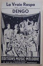 #) partition LA VRAIE RASPA DENGO - accordéon orchestre - Ed. Music Mélodie