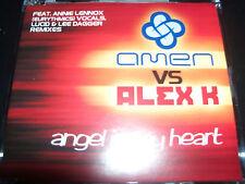 Amen Vs Alex K Angel In My Heart Feat Annie Lennox Remixes CD Single – Like New
