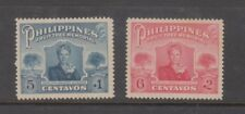 Philippine Stamps 1952 Fruit Tree Memorial (Aurora Quezon) complete set MNG, ton