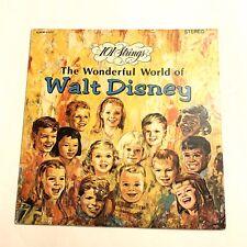 "101 STRINGS ""The Wonderful World Of Walt Disney"" LP Alshire S-5057 SHRINK"