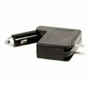 Fuse 2 In 1 Car Wall Charger Adapter 2 Usb Ports ipad iphone android smartphone