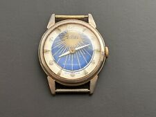 Vintage Sibel Wristwatch Sunburst Face Swiss Made Working