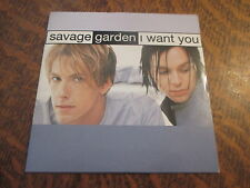 cd SAVAGE GARDEN i want you