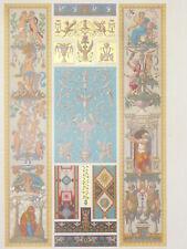 RENAISSANCE Fresques Arabesques Raphael RACINET LITHOGRAPHIE Art Decoratif 1870