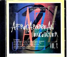 AFRO CARIBBEAN JAZZ ENCOUNTER VOL.2 -NORO MORALES,RICHIE RAY, TITO RODRIGUEZ -CD
