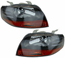 Pair of Headlights Holden Barina 12/05-05/08 New Front TK Hatchback Lamps 06 07