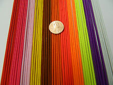 2 mm. ELASTIC CORD RED PINK YELLOW BROWN ORANGE PURPLE WHITE 5 YDS 10 YDS 20 YDS
