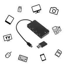 Micro USB OTG Lade Hub Adapter Kabel USB Hubs für Samsung Galaxy S3 S4 Tablet..