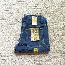 New Lee Carpenter Jeans Dungarees Denim Straight Loose Fit Men's Sizes 5 Colors