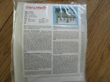 Mary Maxim Musical Village Needlepoint Plastic Canvas Willow House #11006