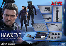 "Hot Toys Captain America: Civil War HAWKEYE 12"" Action Figure 1/6 Scale MMS358"