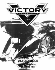 Victory Vision 2012 2013 2014 2015 2016 2017 service manual on CD