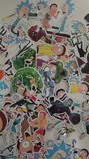 rick and morty gloss vinyl stickers 35 pcs selected at random. Uk p&p fast