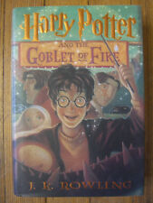 Harry Potter And The Goblet Of Fire, 1st Ed., J.K. Rowling, Scholastic July 2000