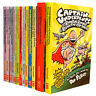 Captain Underpants Children 12 Books Set Collection By Dav Pilkey