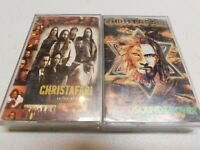 Lot of 2 Cassettes Christafari WordSound & Power, + Valley of Decision