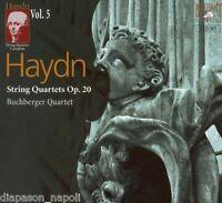 Haydn: String Quartets (Quartetti)  Vol 5 op.20 / Buchburger Quartet - CD