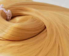 TDP Barbarella Yellow Blonde Doll Hair Hank for Rerooting Dolls and Ponies