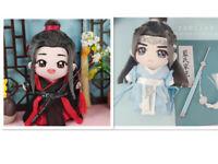 Mo Dao Zu Shi Weiwuxian Lanwangji Cosplay Doll Clothes 20CM Dolls Collection