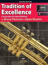 Tradition Of Excellence-Trumpet Music Book & Internet Access Level 1-Brand New!