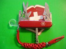 NTSA SWISS ARMY VICTORINOX MULTIFUNCTION POCKET KNIFE RED EXPLORER