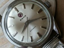 Vintage Rado w/Beautifully Cut Divers All SS Case,AS 1700/01 Mvmt,Runs Strong