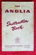 FORD Anglia Instruction Book  Ford Motor Company Limited  from 1953 onwards
