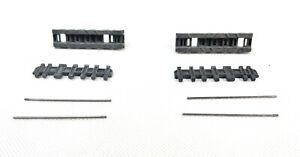 Heng Long King Tiger Tank Metal Track Caterpillar Links Segments UK