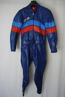 VTG Dainese Cafe Racer Speed Leather Motorcycle Race Suit 40R W32 L29 AA1328
