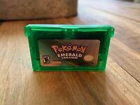 FREE SHIPPING - Pokemon Emerald GBA - Gameboy Advance- USA Seller