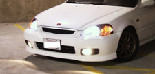 Honda Civic 99-00 White  Fog Light Lamp 2/3/4 dr EK/EM/EJ9/EK3/EK4 (FACELIFT)