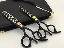 """5.5""""Professional Hair Cutting Thinning Scissors Barber Shears Hairdressing Set"""
