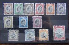 Grenada 1953 - 1959 set to $2.50 MM SG192 - SG204