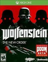 Wolfenstein: The New Order (Microsoft Xbox One, 2014) Brand New Sealed