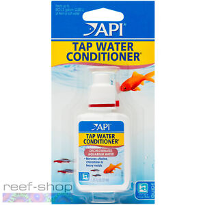 API Tap Water Conditioner 1.25oz Dechlorinates Water and Detoxifies Heavy Metals