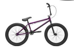 2021 Kink Curb- 20in BMX Bike Gloss Smoked Fuchsia