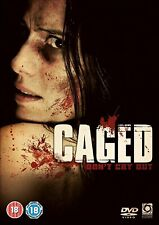 Caged (DVD, 2011) HORROR NEW SEALED PAL Region 2 French with English Subs